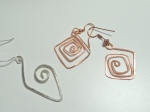 New Geometric Earrings - Work In Progress