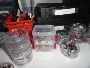 Small containers for each project, extra beads, etc.